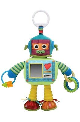 BNWT Lamaze RUSTY THE ROBOT Soft Clip-On Buggy/Stroller Toy Baby/Toddler Travel