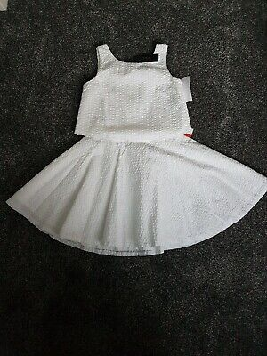 Girls ralph lauren Summer Outfit age 8 dress  bnwt