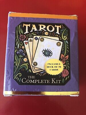 Tarot: The Complete Kit by Dennis Fairchild Book Cards Mystic Fortune Telling