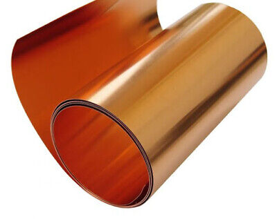 Copper Band Thick 0.1mm Adhesive Tape Width 600mm 0.1 Meter To 100
