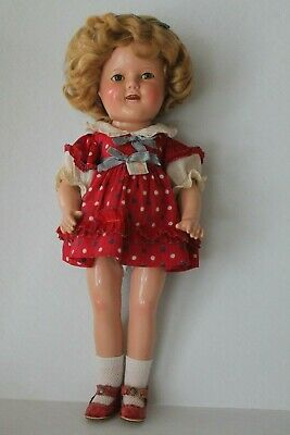Shirley Temple Composite Doll Ideal Littlest Rebel