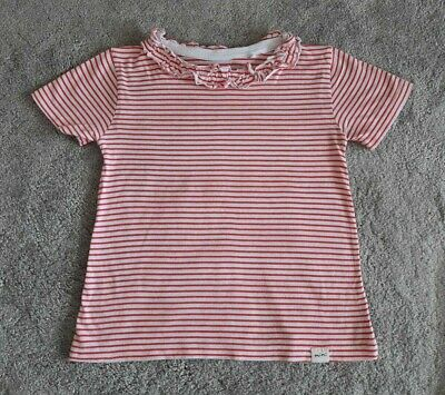 Young Girls River Island Stripe Breton Top / T-Shirt - Age 3-4 Years