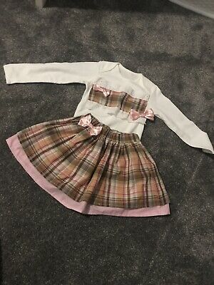 Handmade Custom Made Skirt 2piece Romany Spanish 2-3 Years
