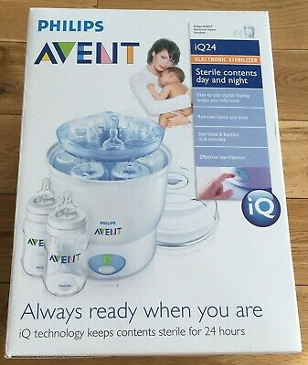Philips Avent iQ24 Baby Bottle Electric Steam Sterilizer