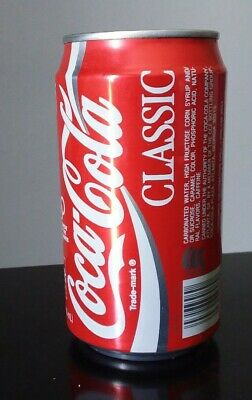 Vintage Coca Cola Classic Can. It' A  Refrigerator Safe. Screw Off Lid. Sweet!!!