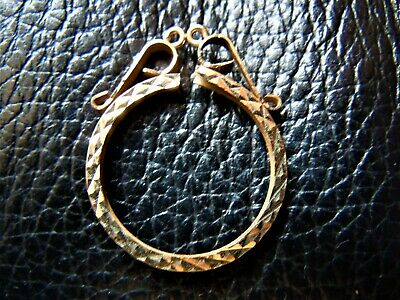 Half Sovereign Simple round Mount (9)  ONLY sold Gold 9 ct