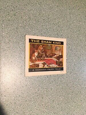 Vintage Jell-O Advertising Recipes German Fairy Tale The Sham King Tri-fold