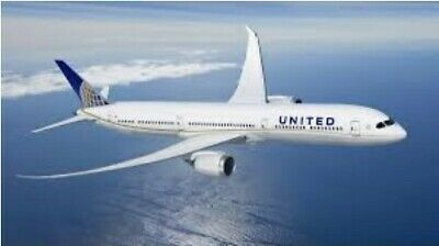 United Airlines Airline Electronic Travel Certificate Voucher $1,074 Exp 04/2022