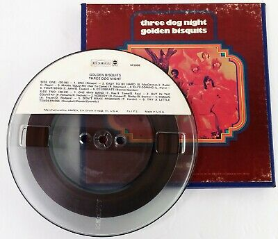 Three Dog Night 'Golden Biscuits' (Best Of) 7½ IPS 4-track Reel To Reel tape