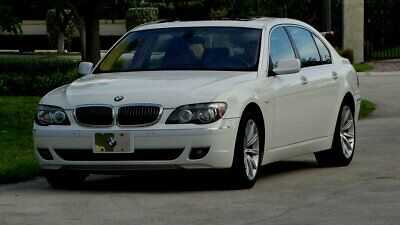 2007 BMW 7-Series ONE OWNER 2007 BMW 750Li LUXURY SEDAN ONE OWNER 70,000 MILE FLORIDA CAR LUXURY AN POWER