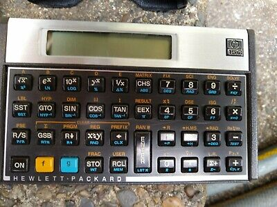 Hewlett Packard Scientific Calculator HP-15C with Manual And Case Yr 1982 (USA)