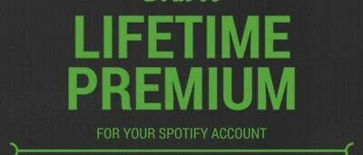 Spotify Lifetime Premium! Instant Delivery! Upgrade Existing Account!