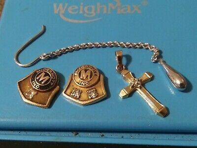 10K & 14k  Yellow and White Gold Jewelry Lot Scrap  4 grams