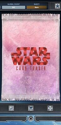 Topps Star Wars Card Trader Tier C Valentine's Day 2018 Base Variants Pack Art