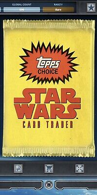 Topps Star Wars Card Trader Tier C Topps Choice 2019  Pack Art
