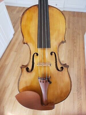 Violin By Carl R. Young. Made in Mokena, Il 1999.
