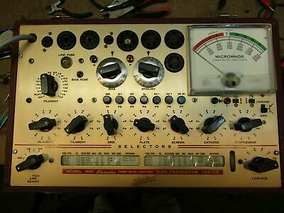 Super nice Clean accurate good working hickok 800  tube tester