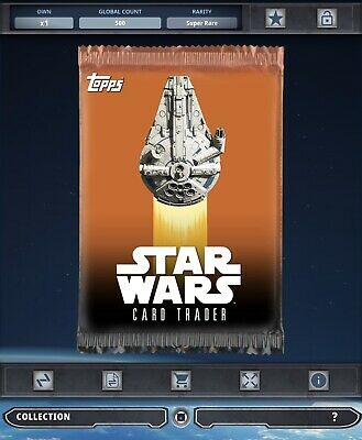 Topps Star Wars Card Trader Tier B Solo Story Outlaw Oaths Pack Art