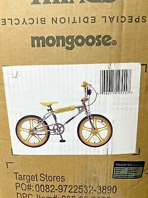 Mongoose STRANGER THINGS  Mad Max's BMX Bike Limited Edition * Ships Same Day