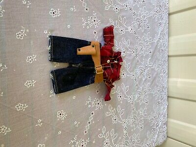 buddy lee cowboy outfit with holster belt