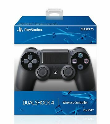 Official Sony PlayStation 4 PS4 Dualshock 4 Wireless Controller Jet Black  NEW