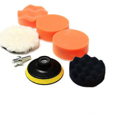 Auto 3inch Car Buffing Pad Sponge Foam Buffer M10 Drill Adapter Polishing Kit