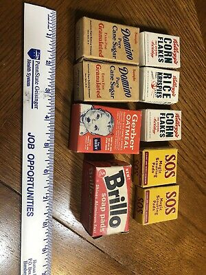 Food Sample Boxes 1950's