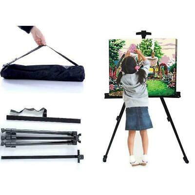 Portable Adjustable Sketch Easel Folding Stand Easel Supplies For Artist D8P5