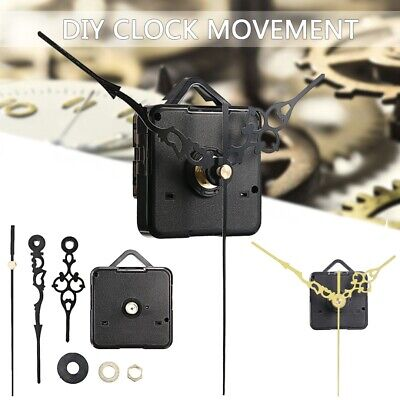 Quartz Wall Clock Movement Mechanism + Hand + Washer Decor DIY Repair Parts Kit