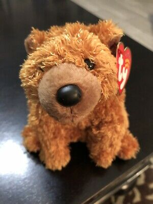 2001 Ty Beanie Babies Sequoia The Bear New With Mint Tag