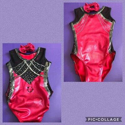 Little Stars Leotard, Size CME. Includes matching scrunchie.