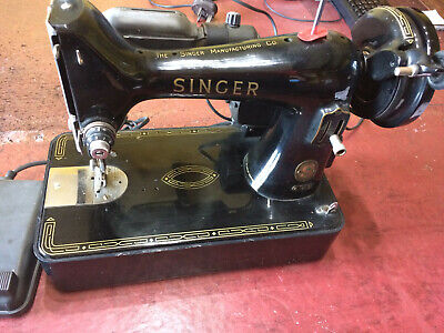 VINTAGE SINGER SEWING MACHINE 99k BZK.12-12 GOOD CONDITION WORKING ORDER