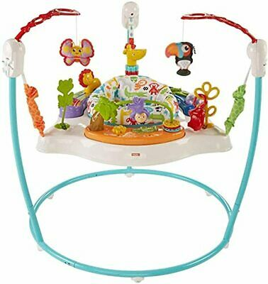 Animal Activity Jumperoo 360 Degrees of Play for Baby Colorful Toys Removable