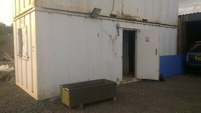 24ft Portable Cabin Site Welfare Unit Portable Office Shipping Container ManCave