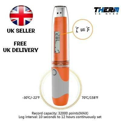 Temperature Data logger RC-51 High Accuracy USB Reusable Waterproof Pen Style