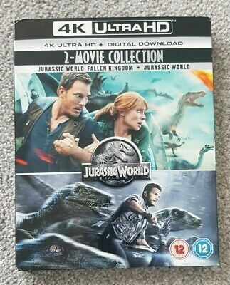 Juassic World 2-movie Collection 4K Blu-ray
