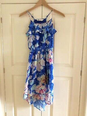 H & M Girls Dress Age 9/10 Years Adjustable Straps Fully Lined