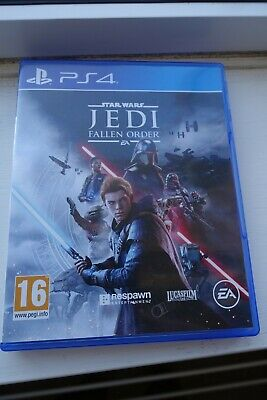 Star Wars Jedi Fallen Order (PS4) very good used condition.