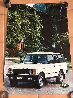 Land Rover Landrover Range Rover Classic Poster