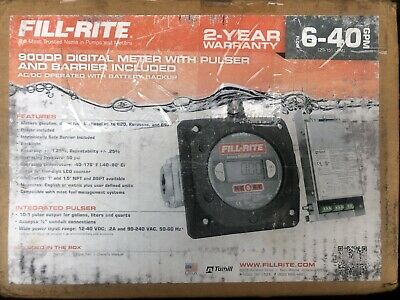Fill-Rite 900DP Digital Meter