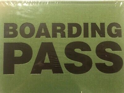 Miquelrius Fabric Boardbound Boarding Pass Plain Rule MD Notebook 5x8