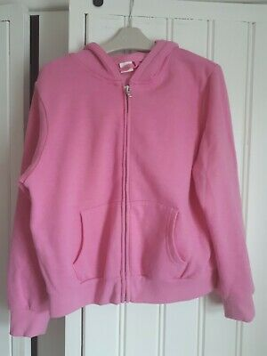 Excellent Condition Next Girls Pink Hoodie Age 10