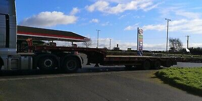 M & G Triaxle Step Frame Lowloader Trailer / Plant  Carrying Trailer