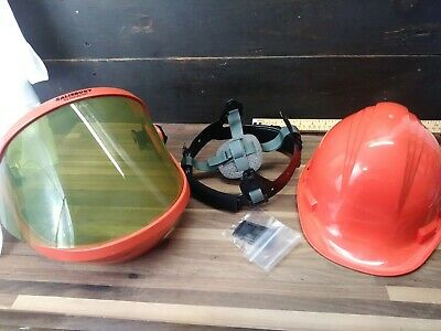 North A79 Hardhat Arc Flash Salisbury Honeywell AS1200-CV Shield 70E safety NEW!