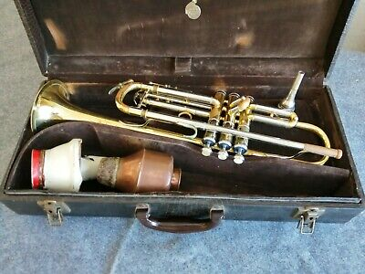 Rudy Muck 5M Trumpet with Boosey and Hawkes Case