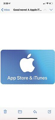 Apple App Store & iTunes $100 Electronic Gift Card