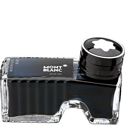 Montblanc 109204 Ink Bottle Midnight Blue - Inchiosto Blu 60Ml