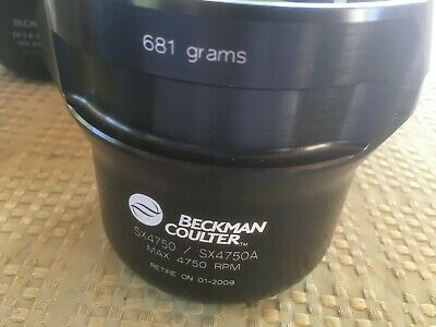 BECKMAN COULTER SX4750/SX4750A BUCKET 681g with inserts