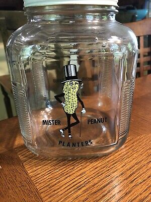 Mr Peanut Planters Jar Canadian