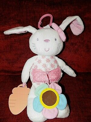 Mothercare Baby Buggy Hanging Bunny Soft Toy